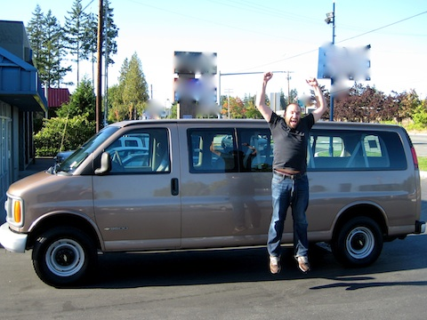 8894696db3d4b2 David purchased this van with your help and support. We can t thank you  enough!